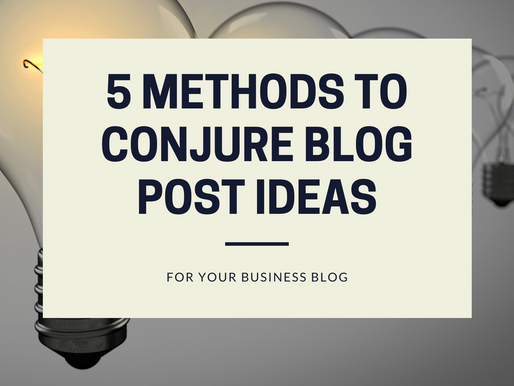 5 Ways To Get Blog Post Ideas For Your Target Audience