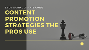 How To Gain More Traffic to Your Business Blog With Content Promotion Strategies