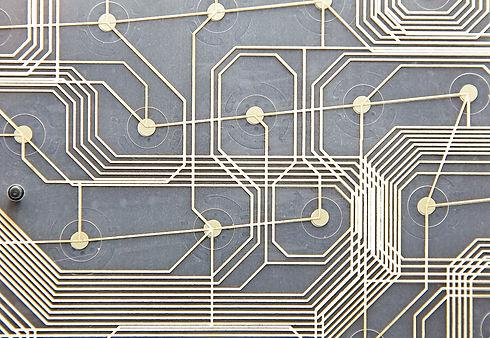 Electrical circuits inside modern keyboa