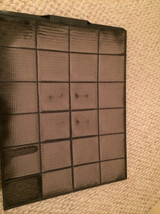 Dirty permanent furnace filter