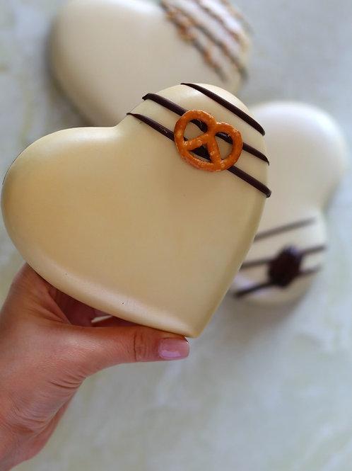 פרלין שוקולד-בייגלה מוגזם