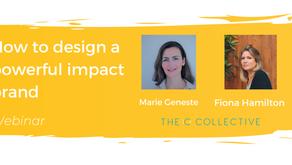 Webinar - How to create a powerful impact brand - 05/10/21