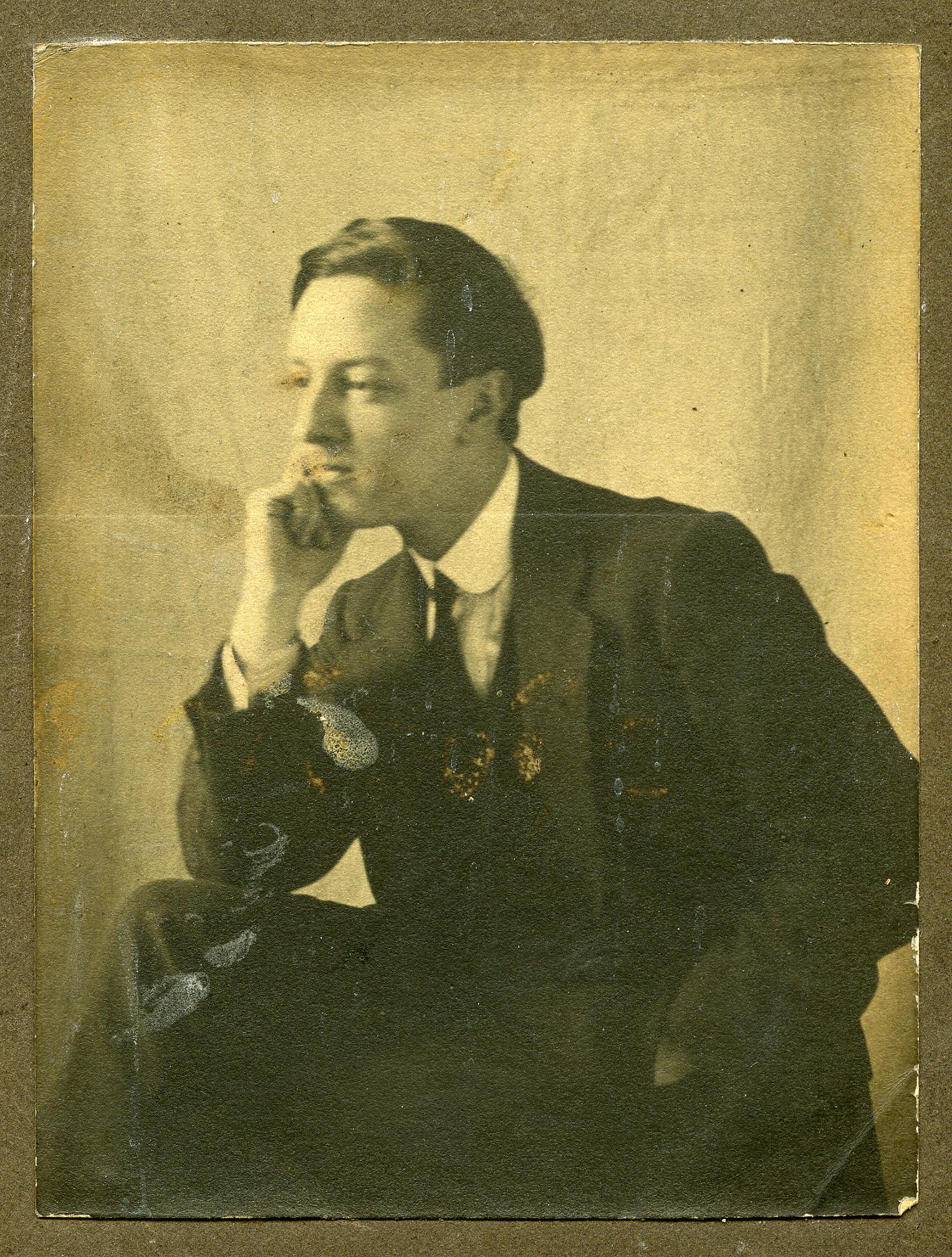 William Harold Jowett c.1907