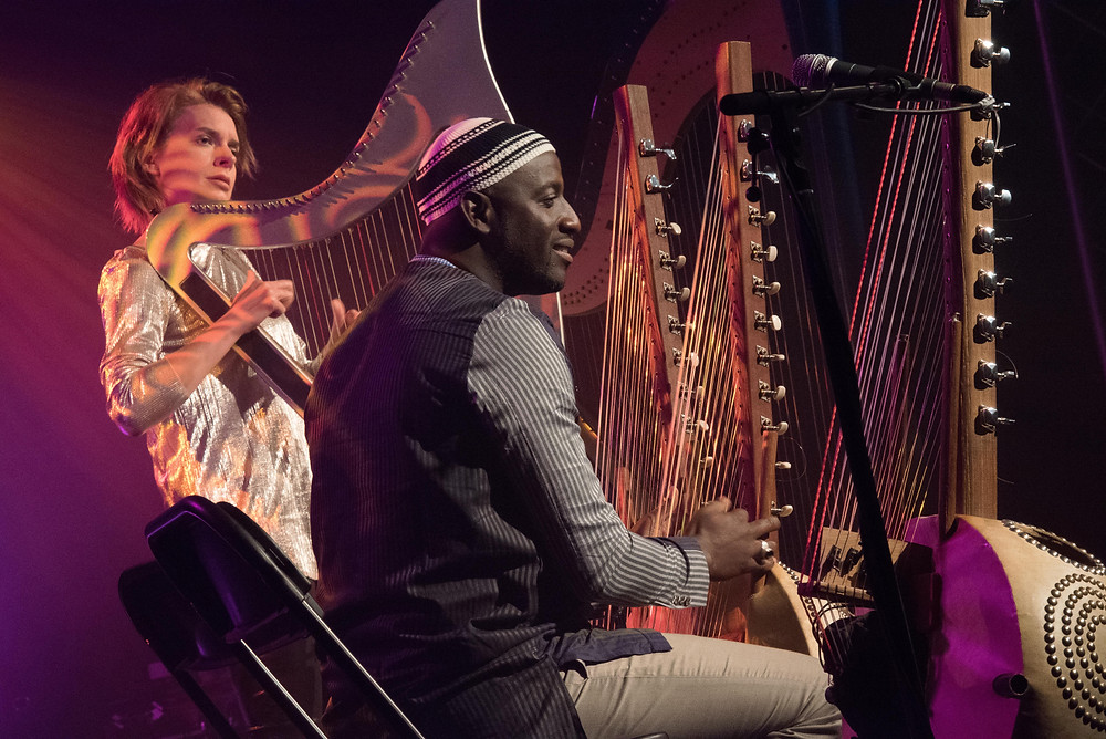 Catrin Finch and Seckou Keita at Sidmouth Festival