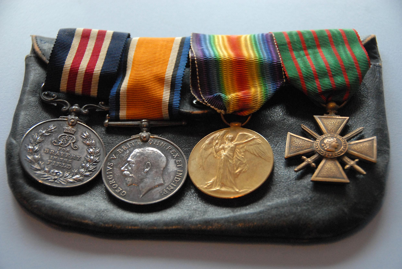 William Harold's medals