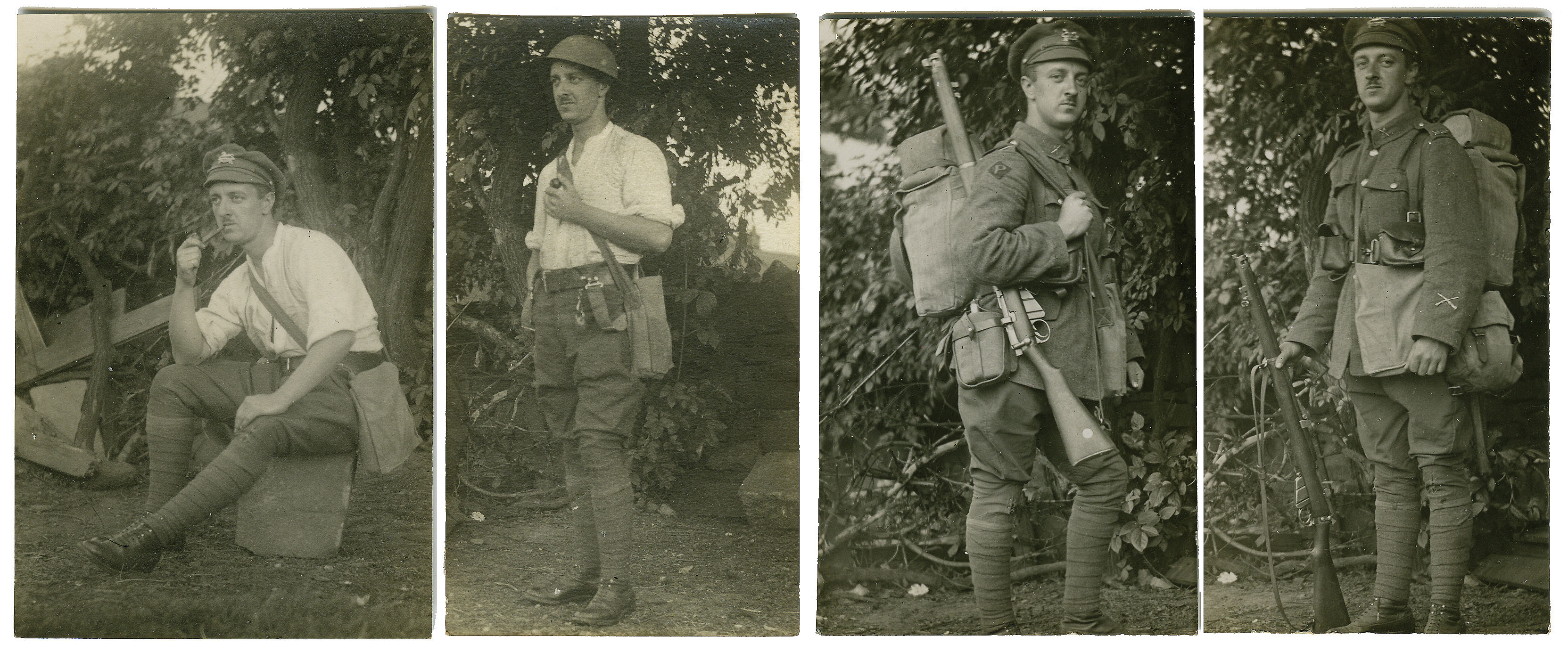 William Harold Jowett in uniform