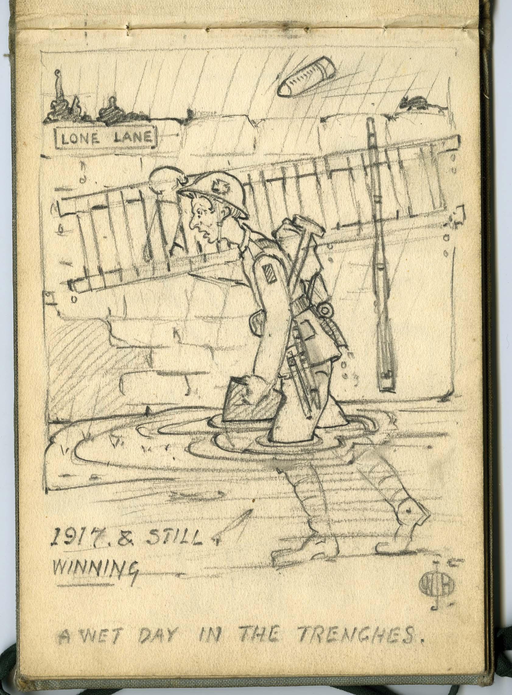 From William Harold's sketchbook