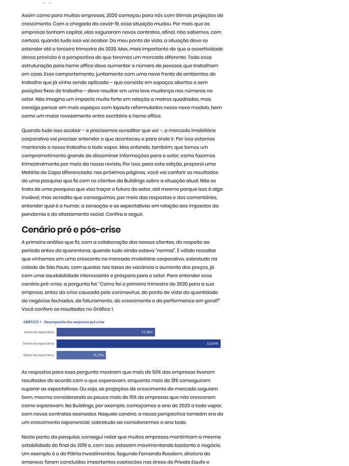 """""""Covid-19: As opiniões dos players do setor"""""""