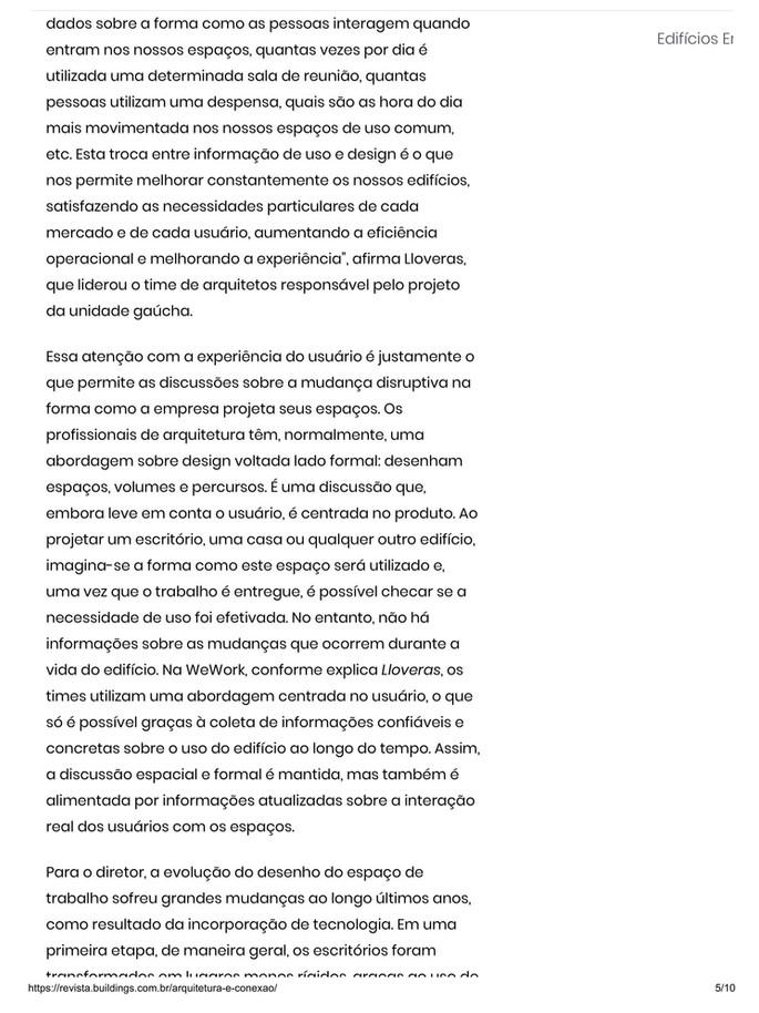 """""""Arquitetura e Conexão"""""""