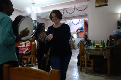 evening party with live music