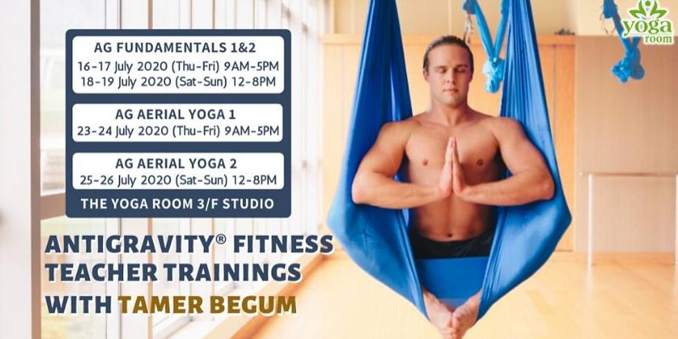 AntiGravity®Fundamentals 1&2 Training at Yoga Room HK