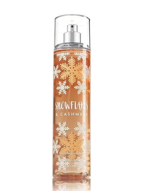 Cashmere Snowflakes Fine Fragrance Mist