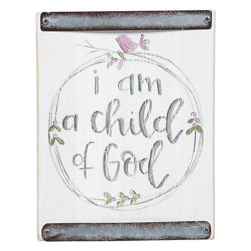 CHILD OF GOD PINK BABY BLOCK