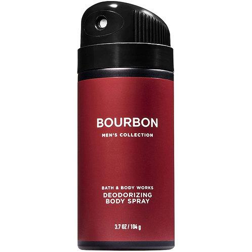 Bourbon Men's Deodorizing Body Spray