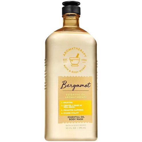 Bath and Body Works Aromatherapy Bergamot Essential Oil Body Wash