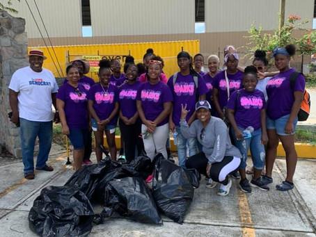 Keep our island clean.