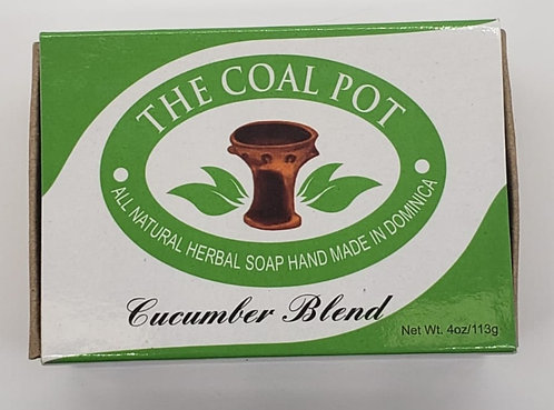 The Coal Pot Cucumber Blend Soap