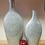 Thumbnail: Austina Blue Enamel Vases