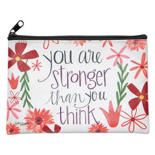 STRONGER THAN U THINK COIN PURSE