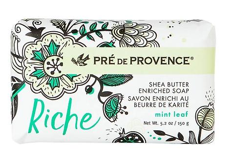 Riche Mint Leaf Bar Soap