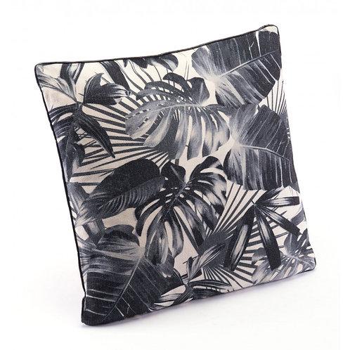 Jungle Pillow Black & Beige