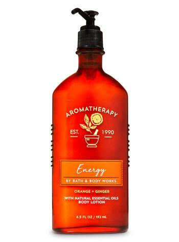 Aromatherapy Orange Ginger Body Lotion