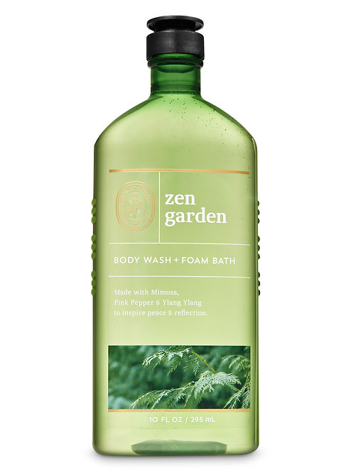 Aromatherapy Zen Garden Body Wash and Foam Bath