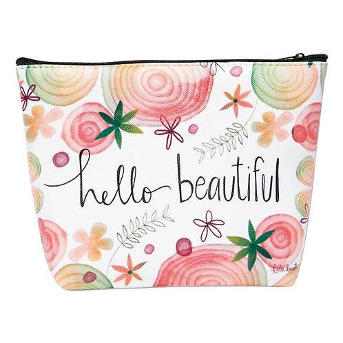 HELLO BEAUTIFUL COSMETIC BAG
