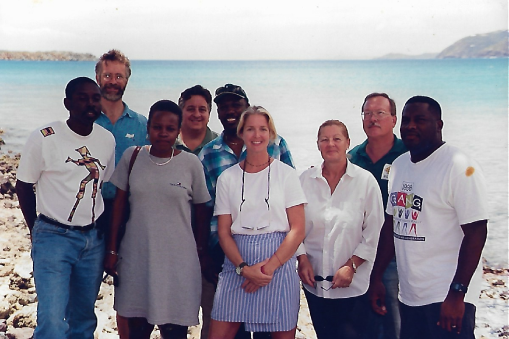 Carla Joseph with EAST Board Members
