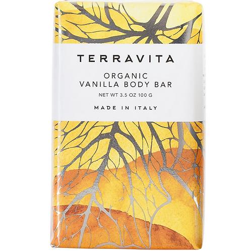 Terravita Vanilla Body Bar Soap