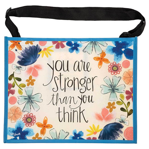 Stronger Than You Think Horizontal Tote Bag