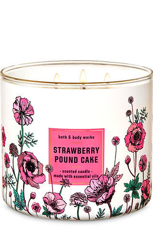 Strawberry Pound Cake Candle