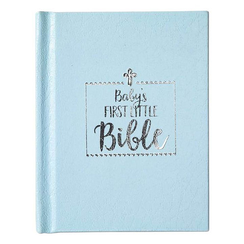 BABY BOY FIRST BIBLE, BLUE