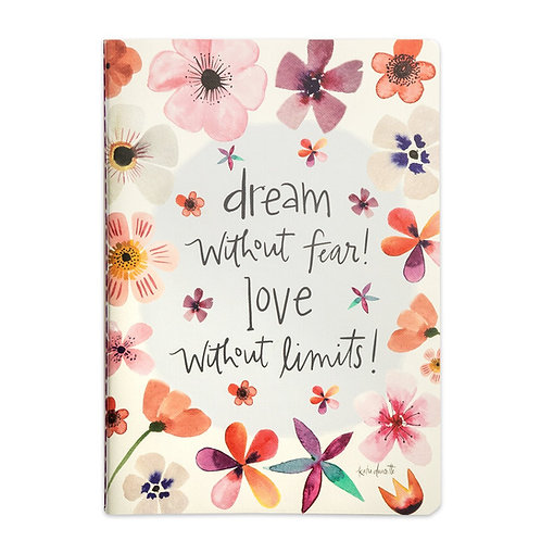 Dream Without Fear Softcover Journal