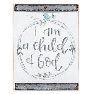 CHILD OF GOD BLUE BABY BLOCK