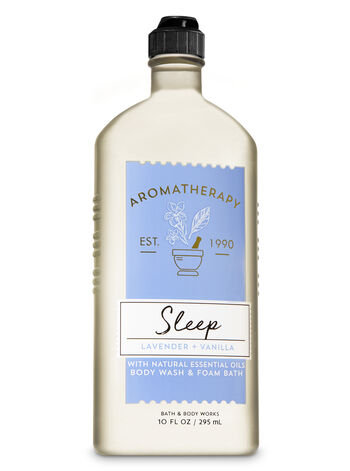 Sleep Lavender+Vanilla Body Wash