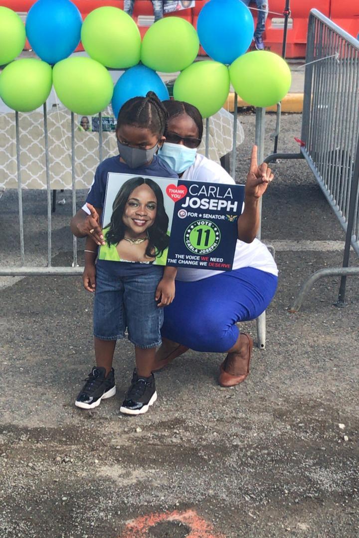 Carla Joseph with the future