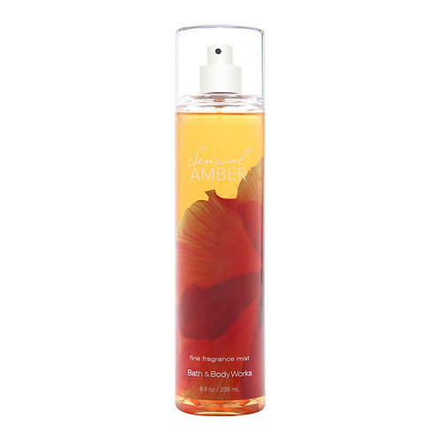 Sensual Amber  Fine Fragrance Mist