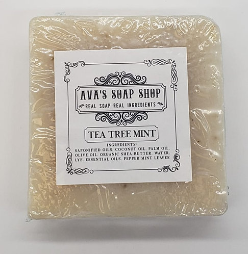 Ava's Soap Shop Tea Tree Mint