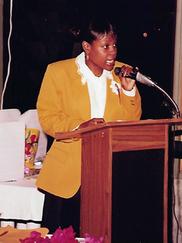 Carla Joseph at Antigua and Barbuda Heritage Link Event