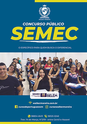 Caderno de Conteúdo - Concurso da SEMEC