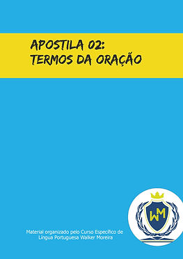 On-line - Termos da Oração - Ficha 01 -