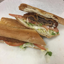 Breaded Steak Sandwhich