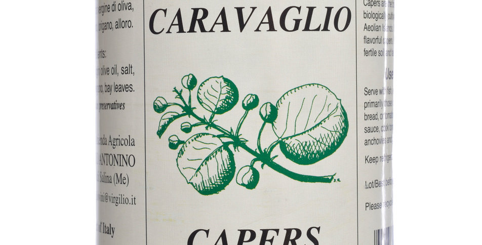 Caravaglio Marinated Capers with Herbsin EVOO