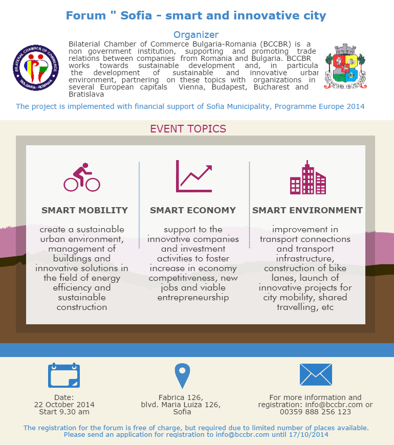Sofia-smart and innovative city