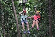 The honeymoon zipline in Langkawi