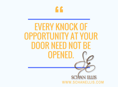 You Don't Have to Say Yes to Every Opportunity!