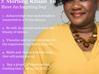 5 Morning Rituals to Have an Inspiring Day