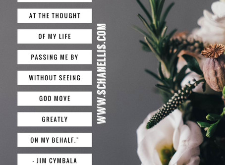 Desiring the Move of God to Move Through Me!
