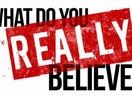 What Do You Really Believe